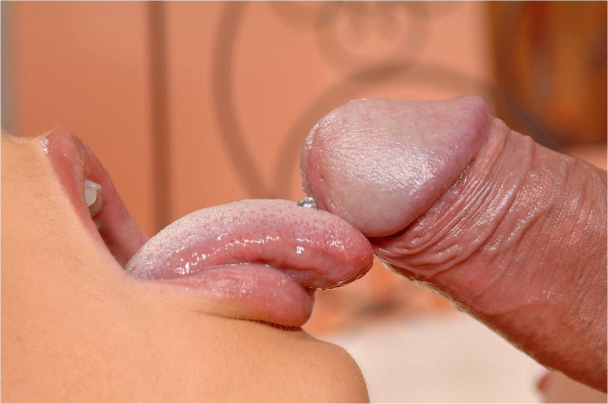 Just starting to leak precum